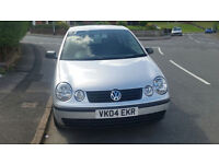 Volkswagen POLO 1.2 petrol ~~~ low mileage~~~ 2004 IMMACULATE