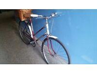 Classic -triumph- bike. Brilliant working condition