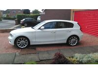 BMW 116d ES, 5DOOR HATCH, 2010, 55700 MILES, WHITE, 2 OWNERS ONLY