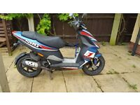 Piaggio NRG scooter moped 49cc