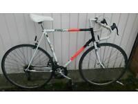 Raleigh pro race retro road bike