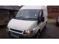FORD TRANSIT SEMI HIGH TOP SWB T280 VAN FULL MOT NO VAT. Ideal business use or camper conversion