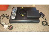 Sky+ HD box & Wireless Adaptor For Sale