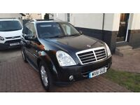 SsangYong Rexton xdi 270 53700 genuine miles full service history