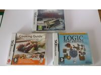 3 x Nintendo DS Games