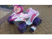 Childs battery op quad bike
