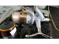 Shimano stradic 4000gtm rb with spare spool exellent line