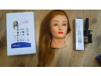 Pro-h Mannequin Head with real hair