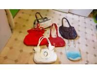 Ladies bundle handbags, 10 bags