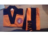 UKTC Taekwon-do Little Tiger Cubs uniform - Size 4
