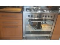 Cooker - Indesit Free standing 90cm duel fuel. £200, ONO for quick sale, collection only