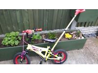 Kids bike Nitro suitable for 3- 4 yr old