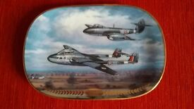 Davenport Pottery vampire and meteor limited edition plate