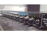 Drawmer da6 xlr distribution amplifier