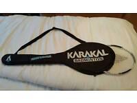 Karakal Titanium Badminton Racquet. Superb condition