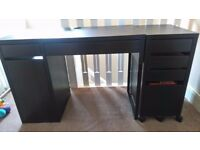 Ikea Desk, Drawer unit & chair