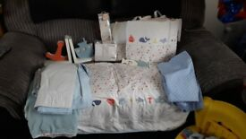 Baby boys bedroom bundle.