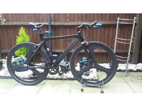 mens single speed tron track/racing bike