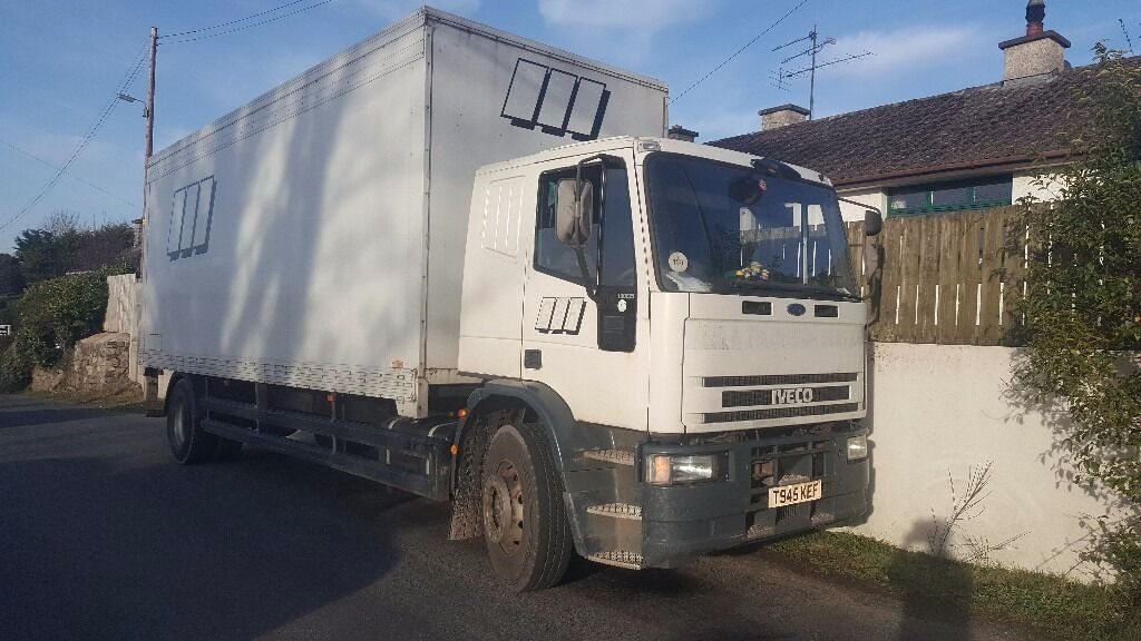 Iveco 18/23 22ft box with 1.5 tonne taillift