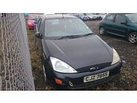 2002 FORD FOCUS, 1.8 DIESEL, BREAKING FOR PARTS ONLY, POSTAGE AVAILABLE NATIONWIDE