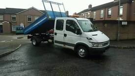 Iveco daily 5tonne dropside tipper years psv