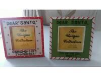 2 lovely Christmas photo frames