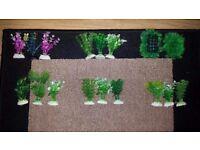 Plastic Plants small pack for Aquarium