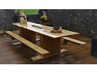 "picnic bench/kitchen table, ""12 FOOT LONG"""