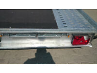 CAR TRAILER 2700 KILO 15 ft 7 ft tandem wheels BRAND NEW CHEAP