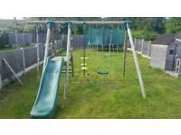swing set garden