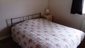 lovely large room in village 15 miles south of cambridge