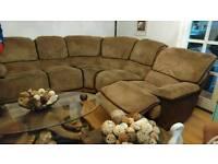 Harvey Normans LARGE reclining corner sofa
