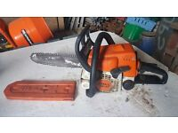 Stihl chainsaw runs great