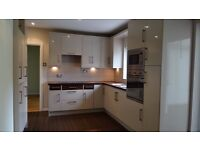 Modern Kitchen with all appliances - Only 1 Year old - Cooker, microwave, fridge, freezer e.c.t