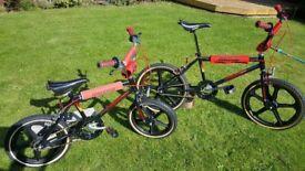 Old School Raleigh Burner BMX's