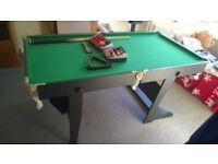 BCE Multi Games Table Snooker/Pool/Dartboard 6ft