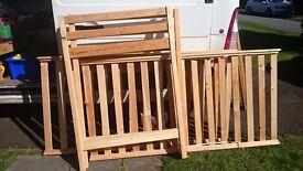 Pine bunkbed frame