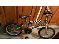 Vintage 16 inch wheels stainless steel BMX