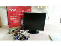 DGM 19 in LCD MONITOR IN VERY GOOD CONDITION