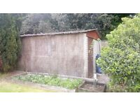 SECTIONAL CONCRETE GARAGE/SHED - FREE TO COLLECTOR