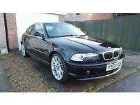 BMW 320ci Sport 2.2 ** Automatic ** Metallic Black ** Long MOT