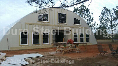Durospan Steel 40x30x20 Metal Arch Diy Home Building Shop Kits Open Ends Direct