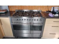 STAINLESS STEEL RANGE COOKER 1000mm X 600mm in VGC - see photos.