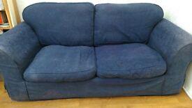 Blue Sofa workshop sofa bed