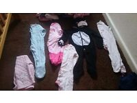 2 bin bags of girls clothes 6-9 and 9-12 months some new with tags!