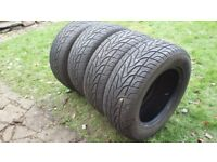 4x4 tyres as new