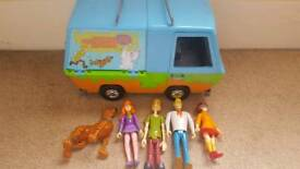 Scooby Doo Set complete with all figures