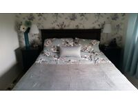 Kingsize divan bed with 4 drawers