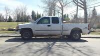 2001 GMC Sierra for parts
