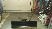 "46"" snow plow for a utility tractor"